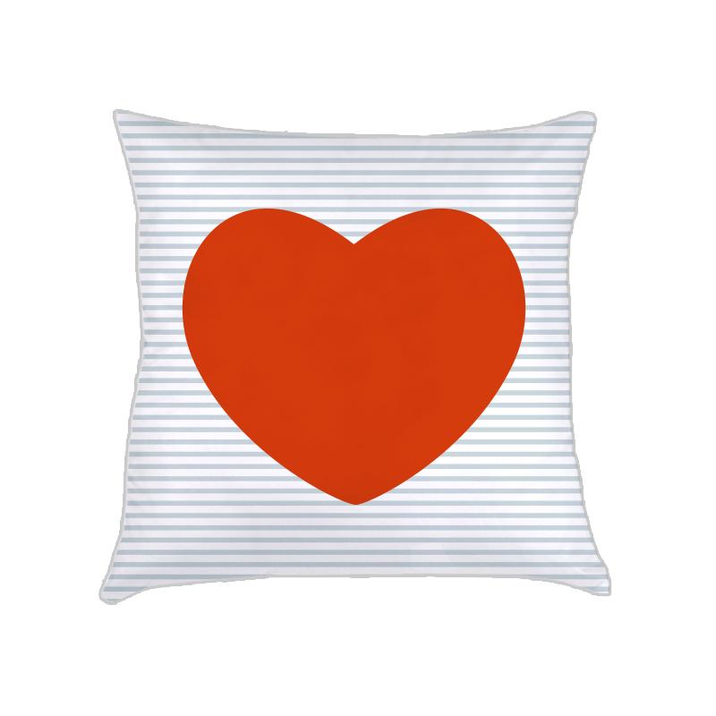 ALMOFADA corações (CAPA + RECHEIO) | vermelho vivo vermelho | 40x40CM | R$152,00    cod: KIDS_VM_0138   CAPAS PODEM SER VENDIDAS SEPARADAMENTE - VALOR R$132,00