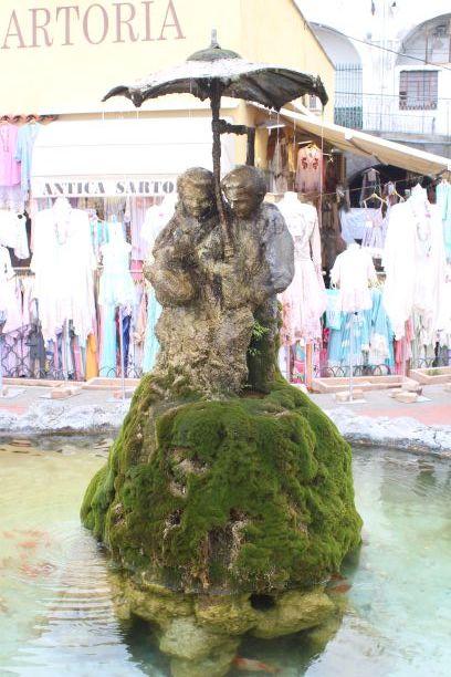 A small fountain in Sorrento
