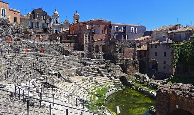 Roman Theater, Cantania, Sicily