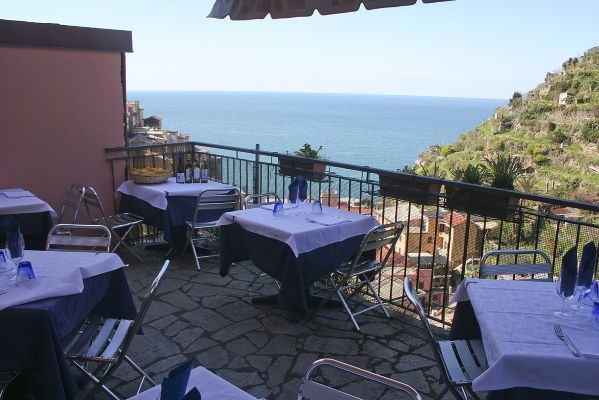 Terrace at Trattoria dal Billy
