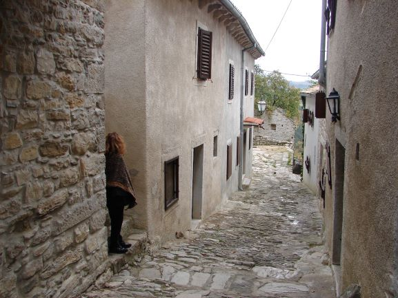 Tiny and quaint Hum, Croatia