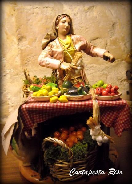 Paper mache figure at Cartapesta Riso, Lecce, Italy