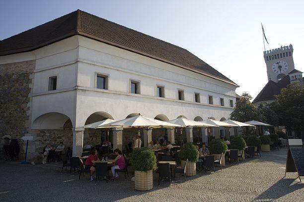 Gostilna Na Gradu at Ljubljana Castle