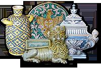 Ceramics by  Riccardo Varsallona