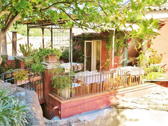 Rooftop garden at  B&B L'Orto sul Tetto, Ragusa, Sicily