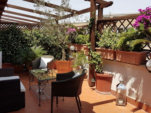 Althea In Roof Terrace, Rome