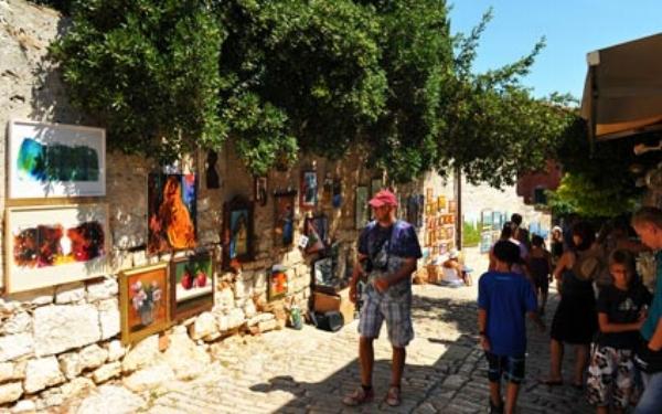 Grisia Open Air Art Show, Rovinj