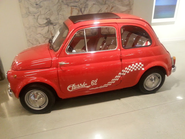 1962 Fiat on display at Italica