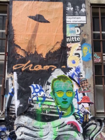 Haus Schwarzenberg Street Art Alley, Berlin, Germany