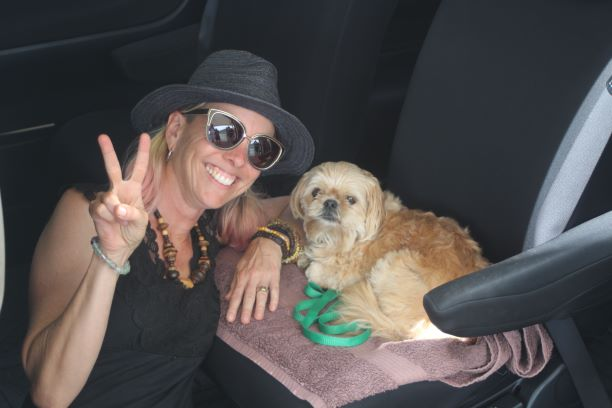 Natalie and her partner Shanti of Wai Tiki Tours