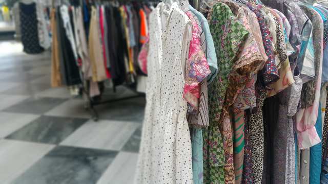 Vintage clothing store on K-Road, Auckland