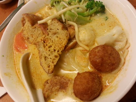 Laksa at Aunty Mena, Wellington