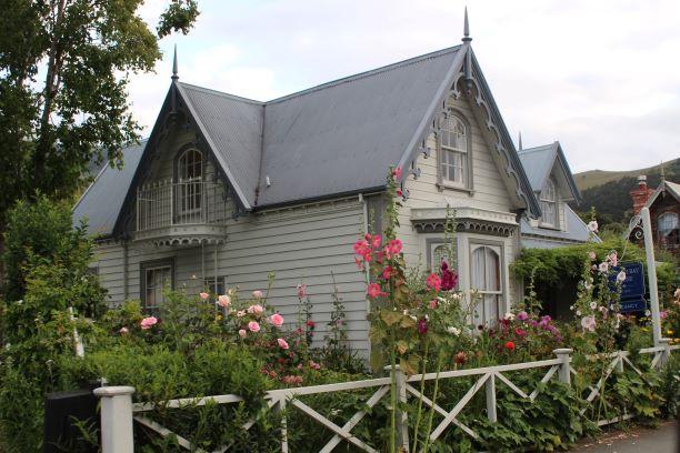 Quaint Akaroa, New Zealand