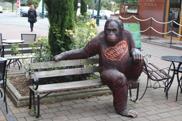 Rollickin' Gelato's mascot, Christchurch, New Zealand