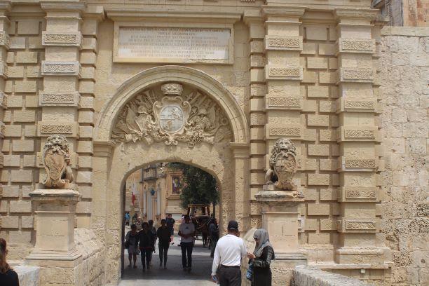 Gates to Mdina, Malta