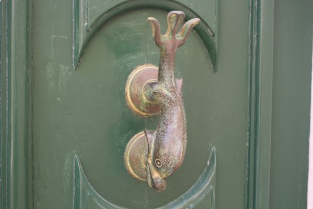 The famous door knockers of Mdina, Malta
