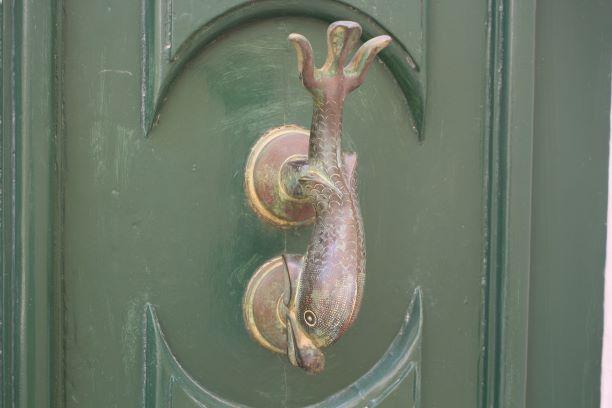 The famous door knockers of Mdina, Malta