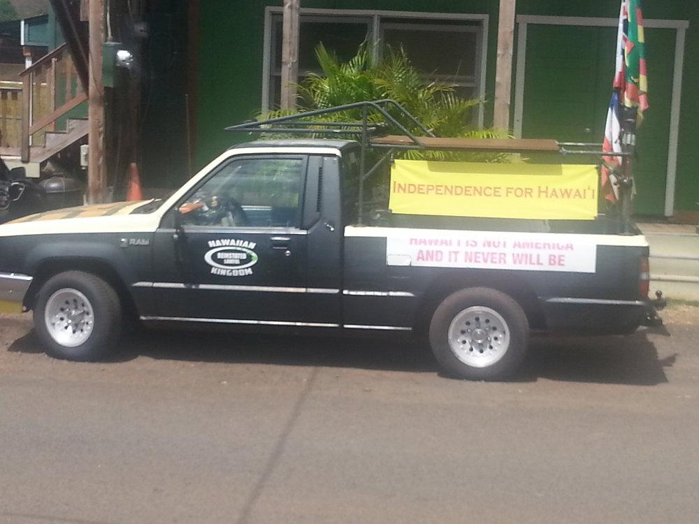 Truck in Hanapepe, Hawaii