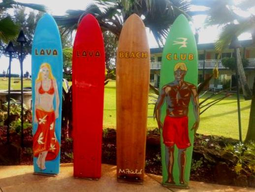 Lava Lava Beach Club, Kauai, Hawaii