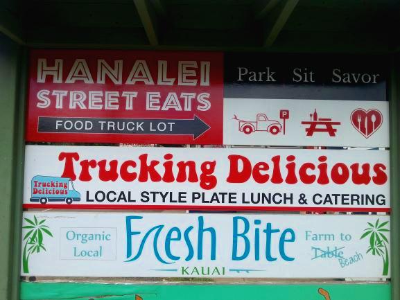 Hanalei Street Eats, Kauai, Hawaii