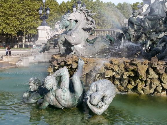 Monument to the suffering of the during the French Revolution, Bordeaux, France