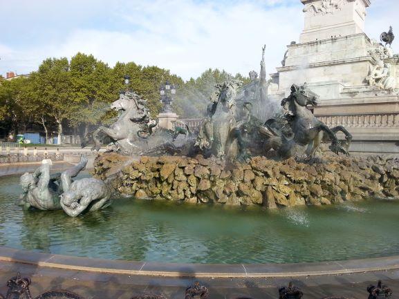 Monument aux Girondins in Esplande des Quinconces, Bordeaux, France