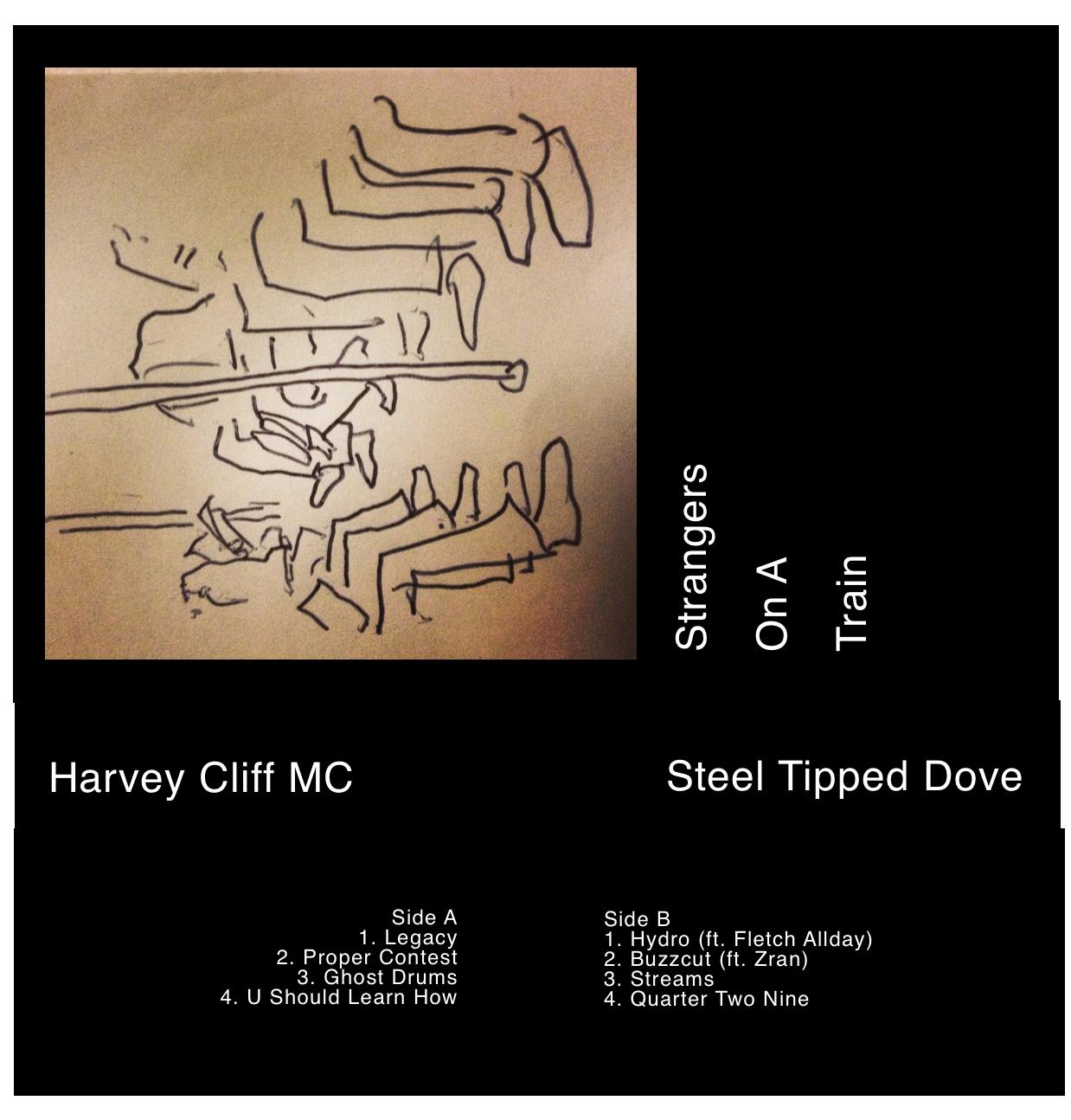 Strangers On A Train - Cassette — Harvey Cliff