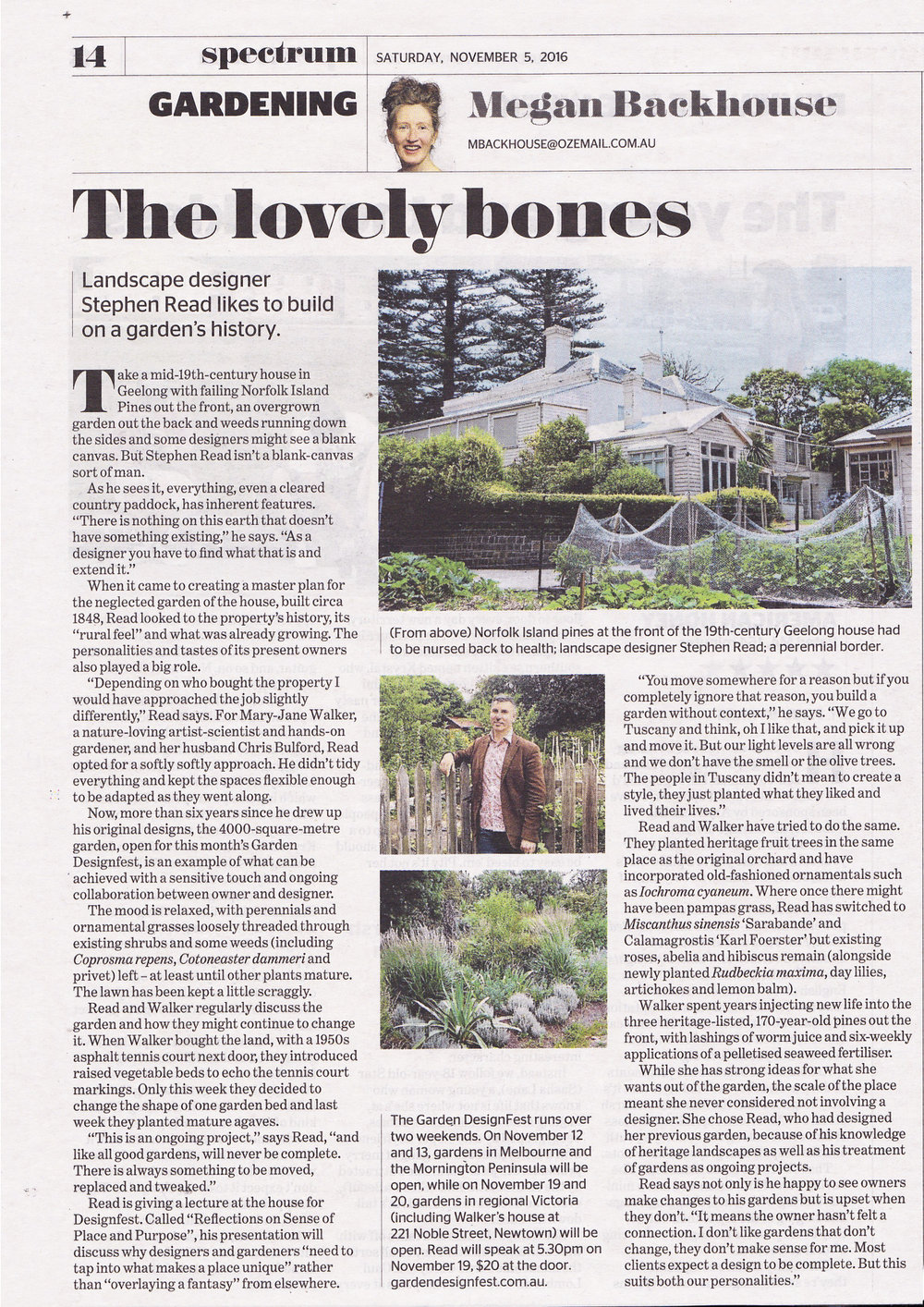 As featured in The Age Spectrum Magazine