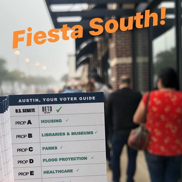 Final day to get your voice out! ✅ BETO ✅ AMIT FOR DISTRICT 3  Let's do this!! ¡Adelante!