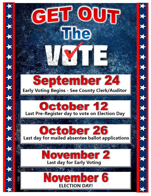 KEY DATES FOR IDAHO ELECTION SEASON - Register Early! Don't Forget to Vote! Get up! Stand up! Stand up for your rights! ✊Share this information with others and check out idahovotes.gov for more information on voting.