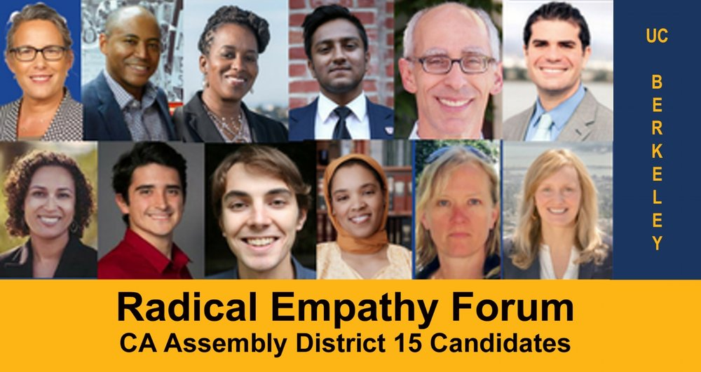 California Assembly District 15 candidates discuss empathy in politics