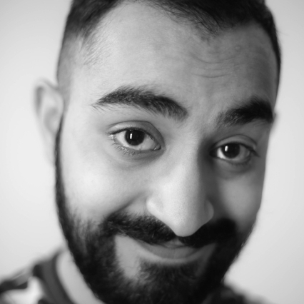 SABEEH JAMEEL - Sabeeh Jameel is a New York-based writer, producer, and performer. His work has appeared on Comedy Central (The Opposition w/ Jordan Klepper), National Geographic, (and BRIC TV. He is friendly and would love to meet you!Instagram: @jameelforreal