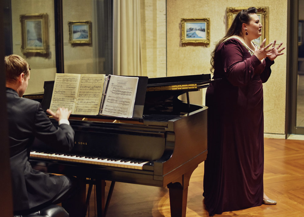 Domingo-Cafritz Young Artist Recital Series at the Kreeger Museum with Thomas Morris