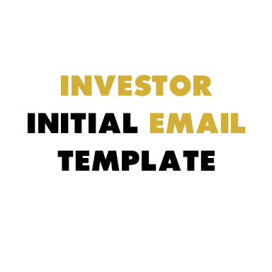 Need to reach out to investors and don't know what to say? Use this email template to get you started, courtesy of  Rachel Renock  of  Wethos .