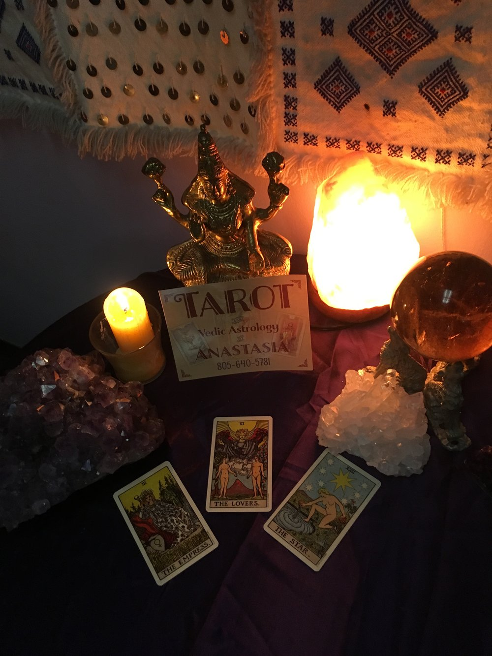Psychic readings with Anastasia - Tarot & LeNormand