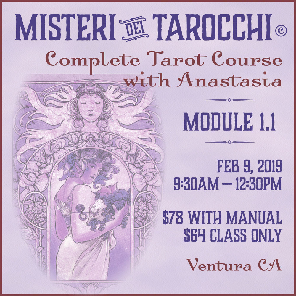 Tarot class in Ventura, CA