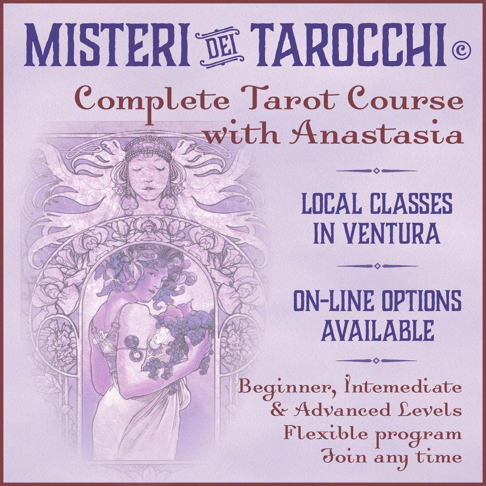 Tarot class with Anastasia Katsikaris