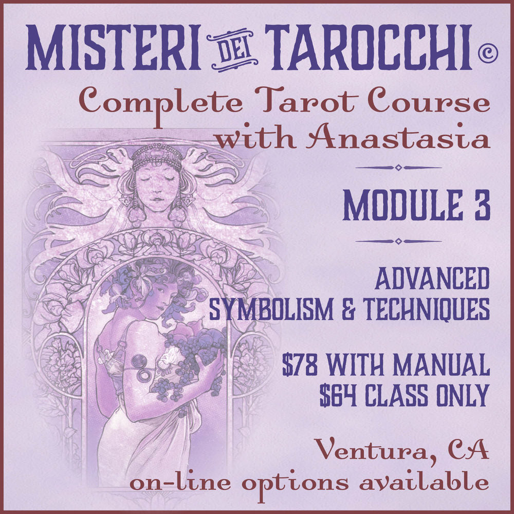 Ventura Tarot Classes with Anastasia