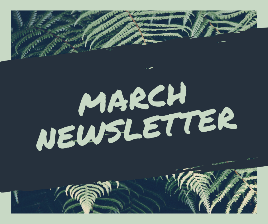 March 2019 Newsletter — Young, Gifted, and Non-Dominant