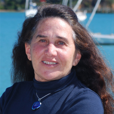 Lin Pardey - SV Felicity | USA/NZLin has voyaged more than 200,000 miles on boats ranging from 24 feet to more than 60. Her seminars, the 12 books and 5 videos she created, have encouraged thousands of potential voyagers to set sail. After 47 years of voyaging she settled in at her home base in New Zealand, to care for Larry through his decline due to Parkinson's disease and dementia. With Larry now in full time care, she has once again set sail towards Australia as crew on David Haigh's 40 foot Van de Stadt, Sahula. Between return visits to see Larry, she looks forward to sharing more cruising.