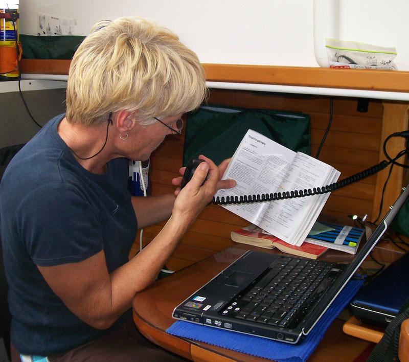 Giving medical advice over the radio saved Christian's life
