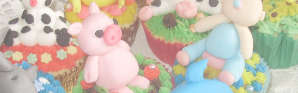 Speciale actie gedurende de zomermaanden   - cupcakes  versieren met als thema vakantie