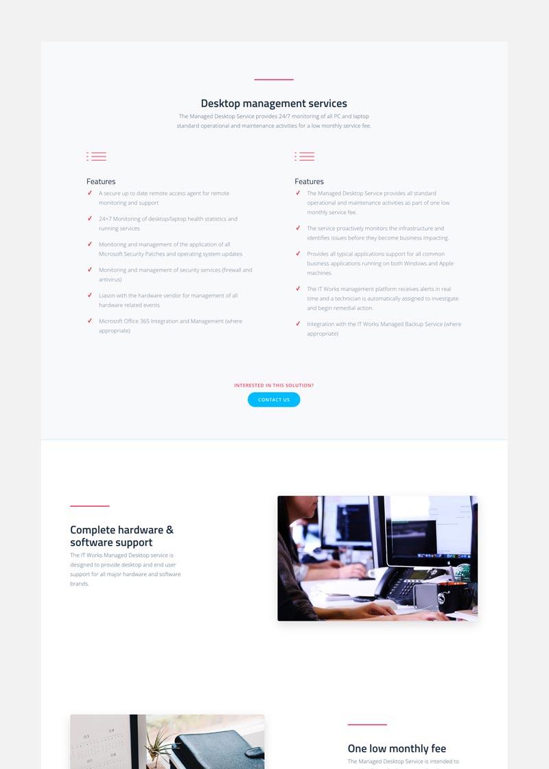 ITWorks | Desktop management services - desktop