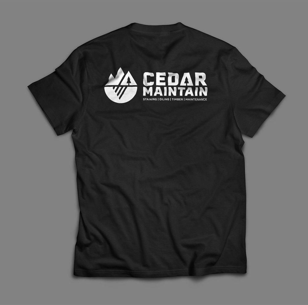 Cedar-Maintain-tshirt