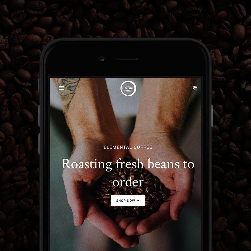 Project - Elemental Coffee