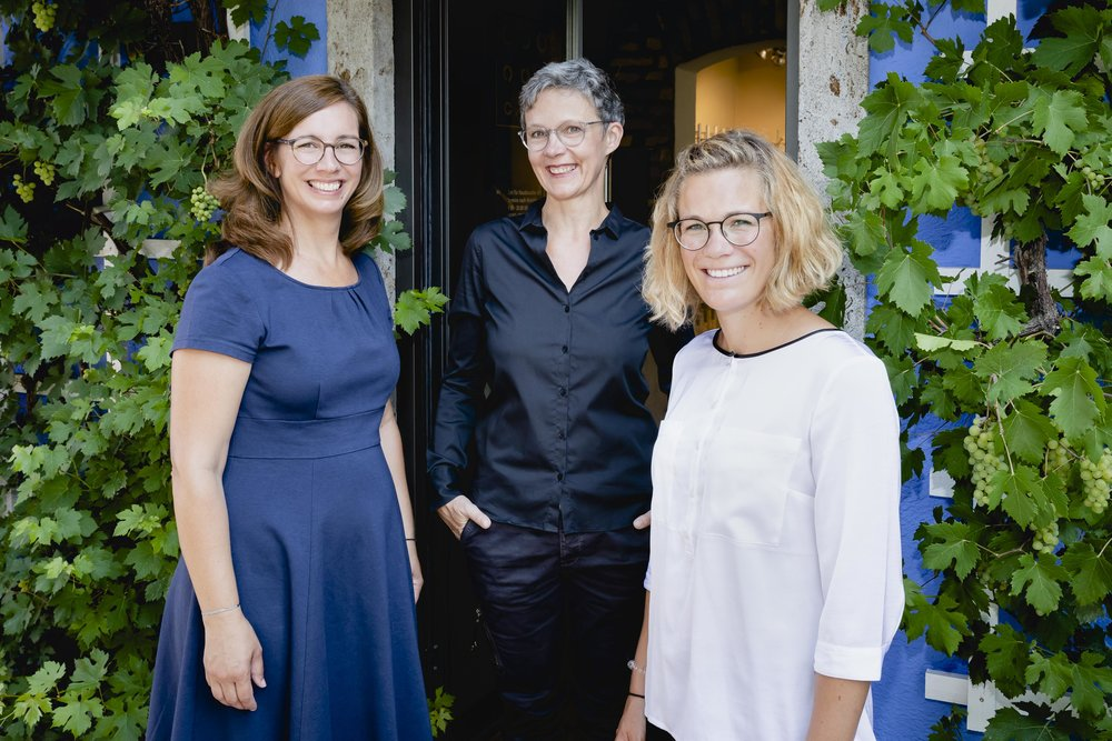 Hellen Koppany, Marion Lohmann, Christina Lauk