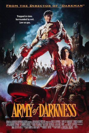 army of darkness graphic design movie poster