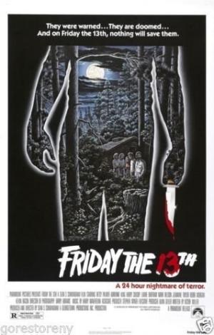 friday 13th movie poster design identity