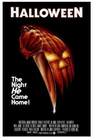 Halloween movie poster graphic design brand identity