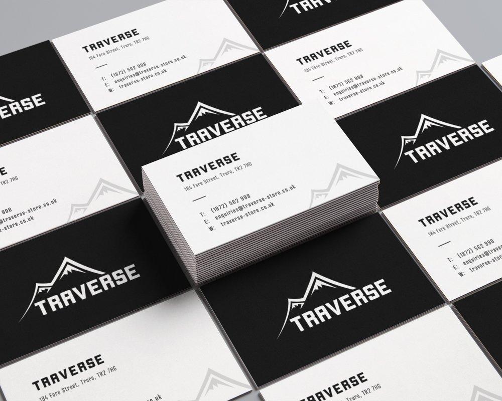 devon business card graphic design